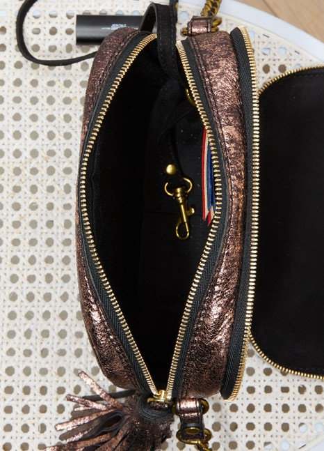 Sac porté épaule Pascal en cuir irisé xf91vH