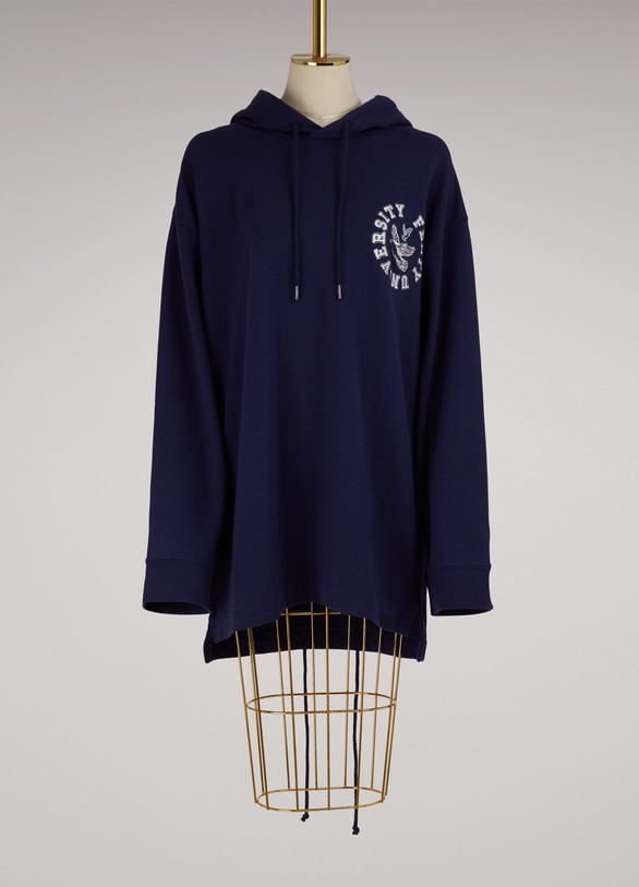 Fenty Puma by RihannaLong sleeve back lacing hoodie