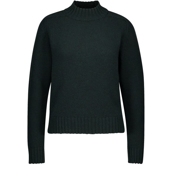 CELINEShetland wool jumper with stand-up collar