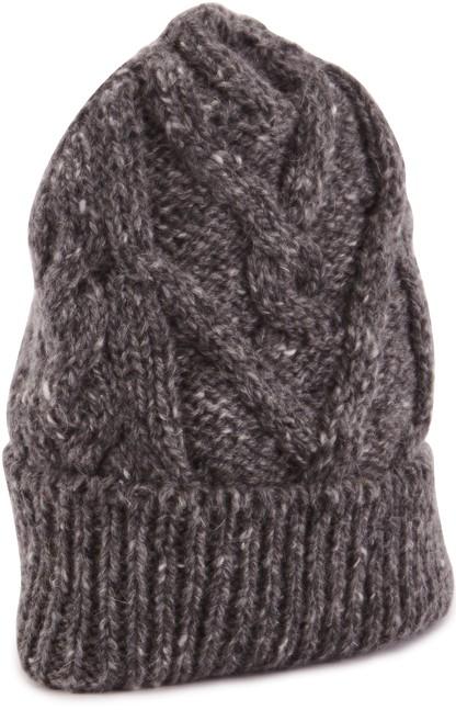 THOM BROWNE Aran Cable Knit hat