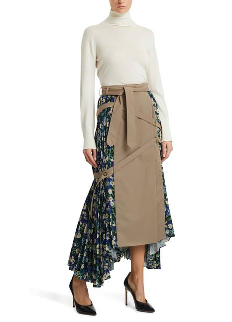 ROKHPleated midi skirt
