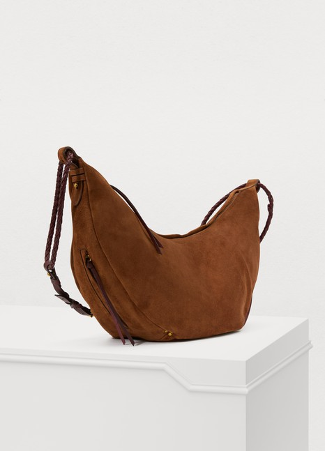 JEROME DREYFUSS Willy L tote in suede