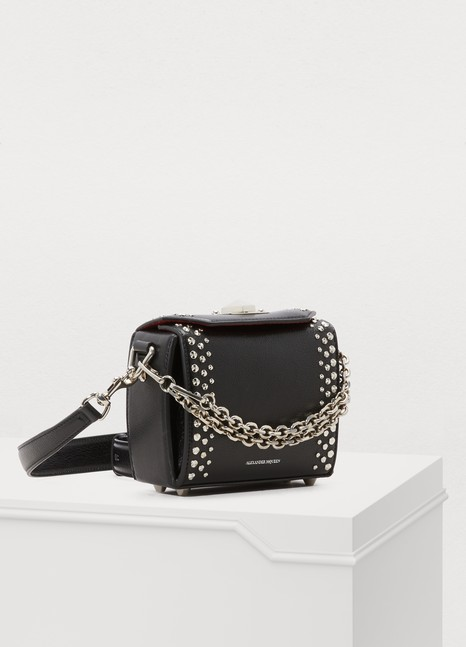 Alexander McQueenBox bag 16 porté épaule