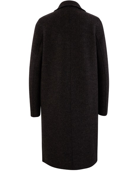 HARRIS WHARF LONDON Coat in wool