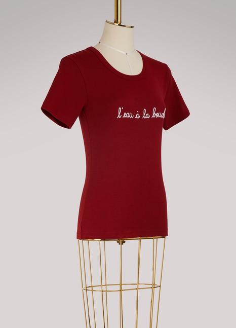 Maison LabicheT-shirt l'eau à la bouche en coton