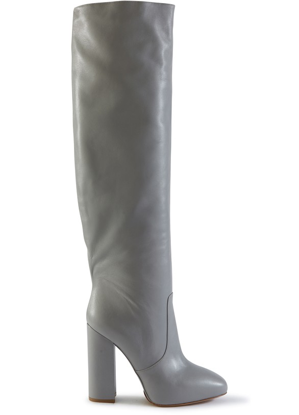 DRIES VAN NOTENLeather thigh boots