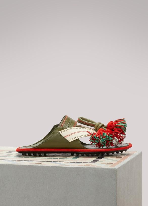 CarvenLeather sandals