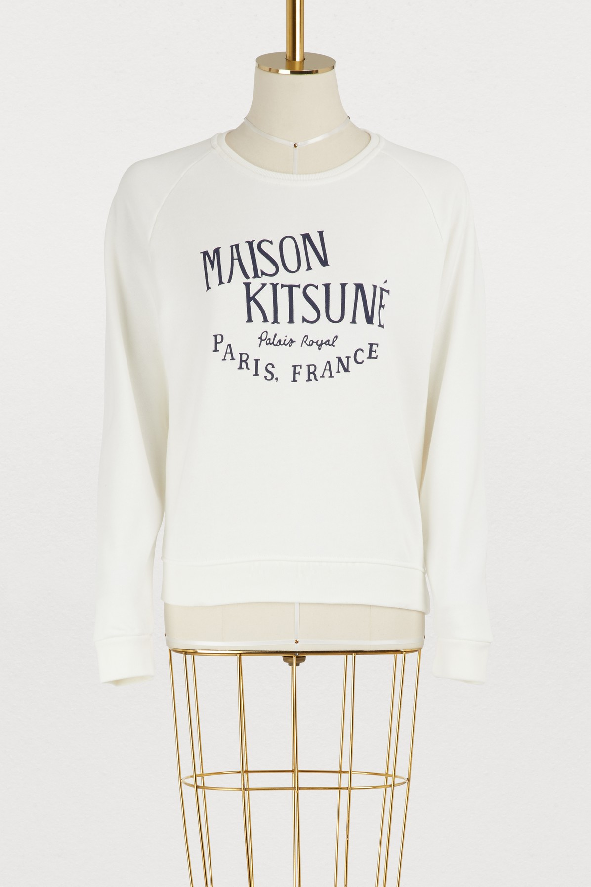 MAISON KITSUNE | Palais Royal cotton sweatshirt | Goxip