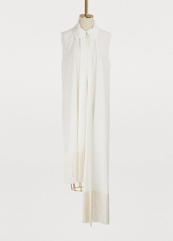 GivenchyAsymmetric long dress