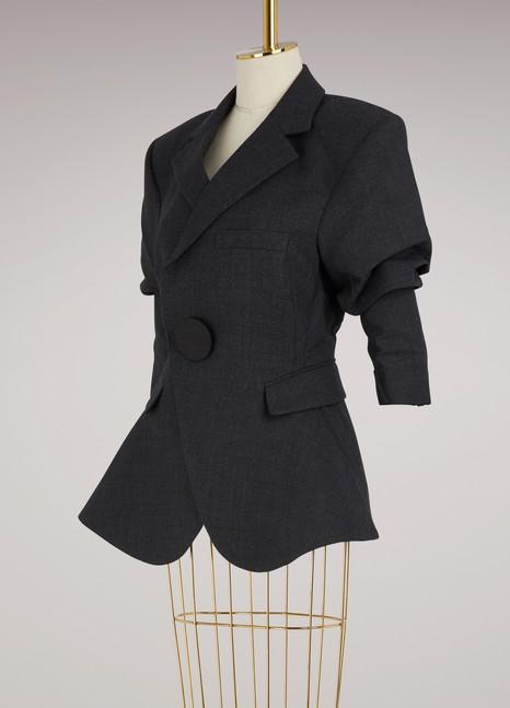 JacquemusVeste en laine vierge et coton