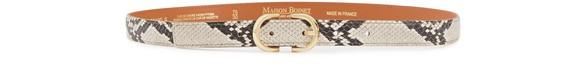 MAISON BOINETPython print belt
