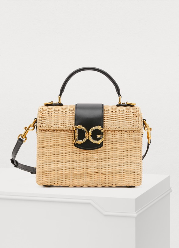 Dolce & GabbanaStraw handbag