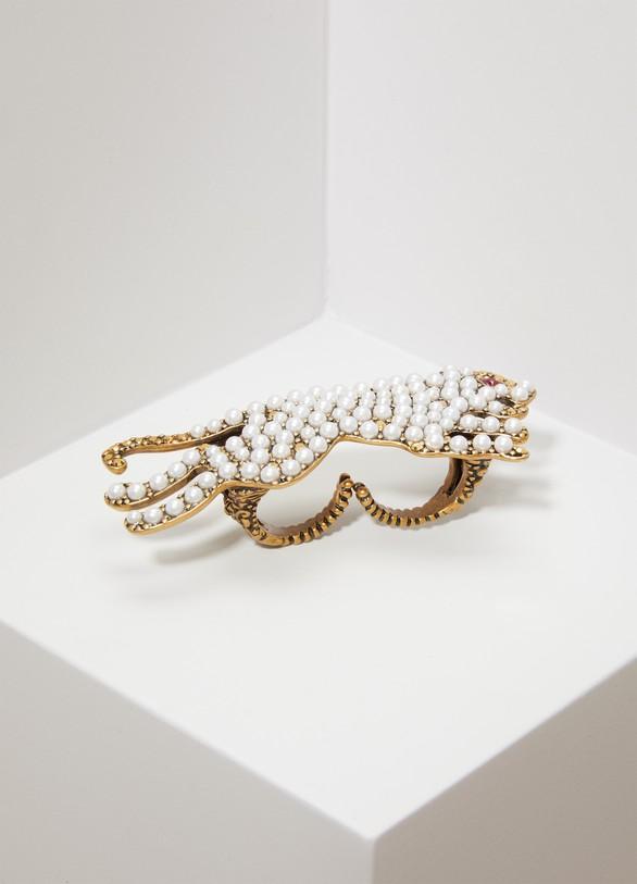 GucciBague anneaux multiples avec tigre