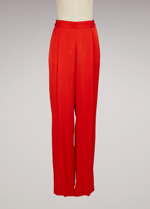STELLA McCARTNEY Pantalon large en satin