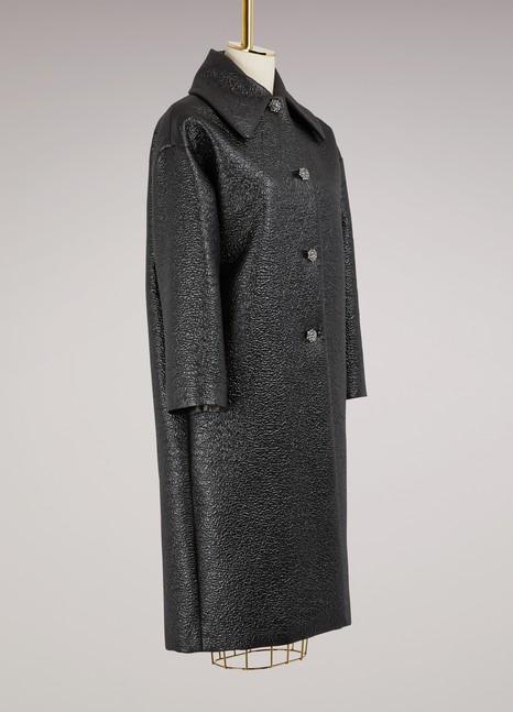 LanvinJewel-buttoned coat