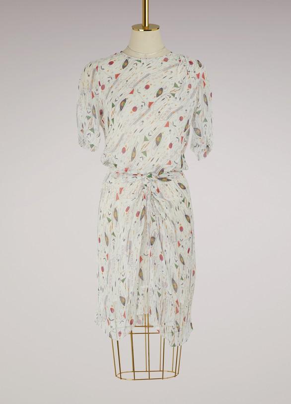 Isabel Marant EtoileSilk Barden dress