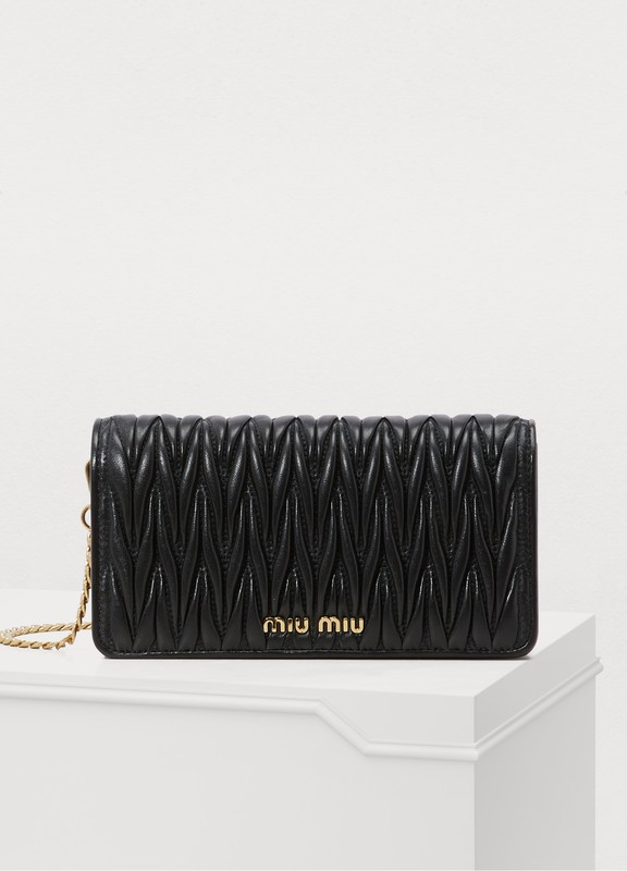 b3ef42ee8953 Miu Miu. Mini quilted bag