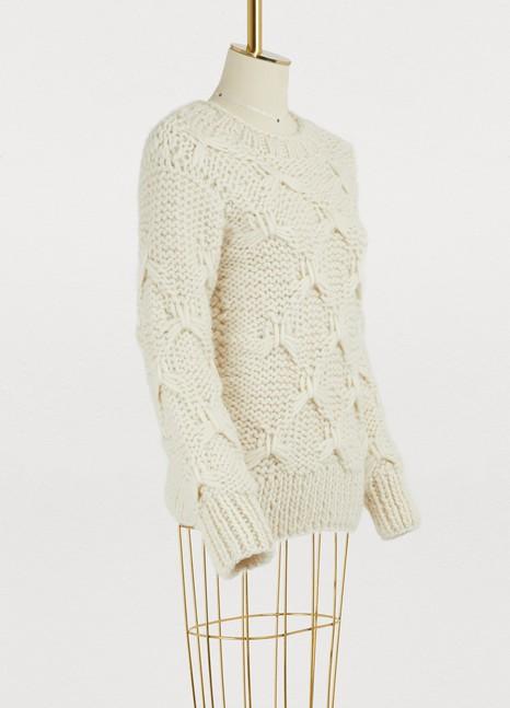 OFFICINE GENERALEDiamond wool sweater