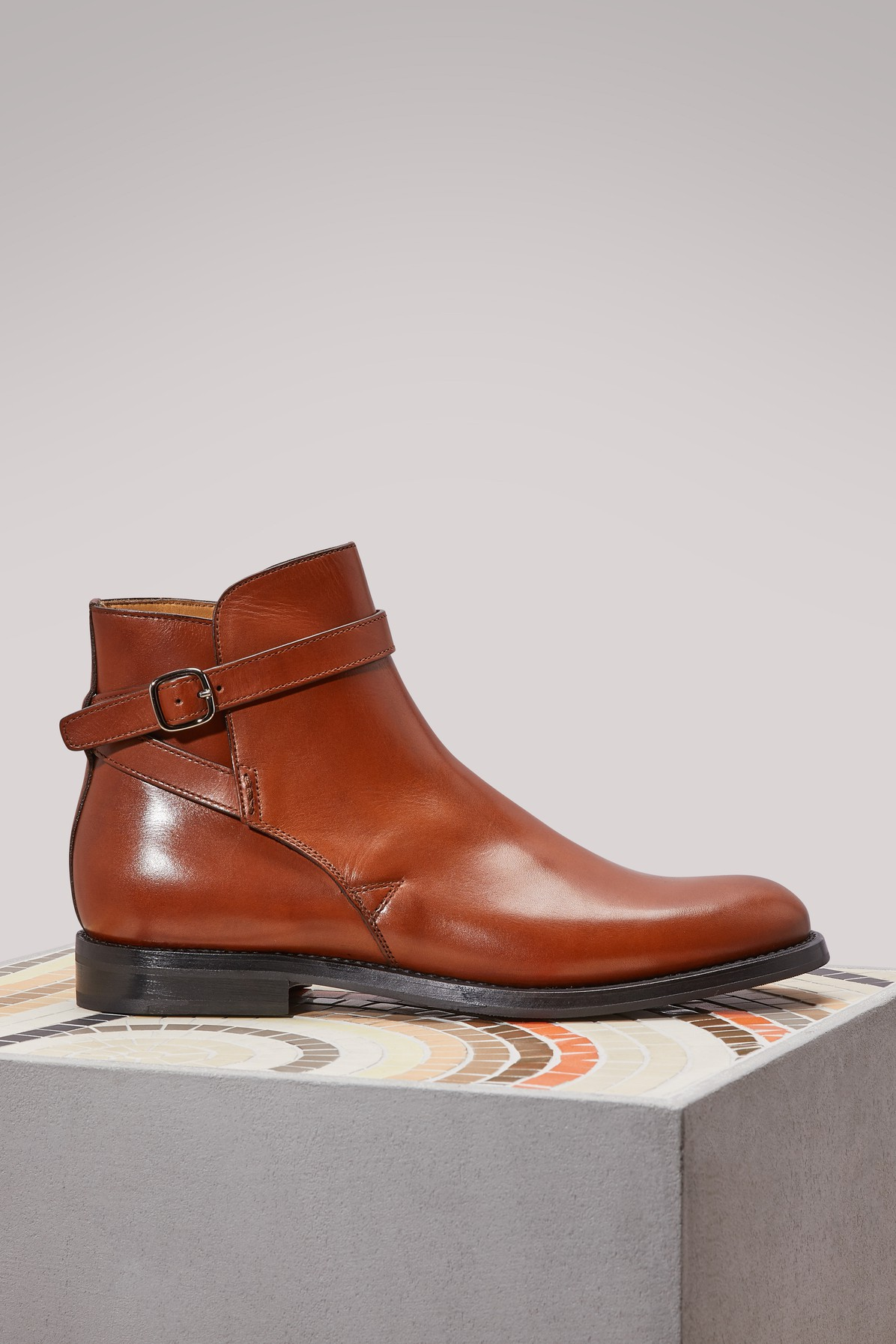 CHURCH'S | Merthyr leather ankle boots | Goxip