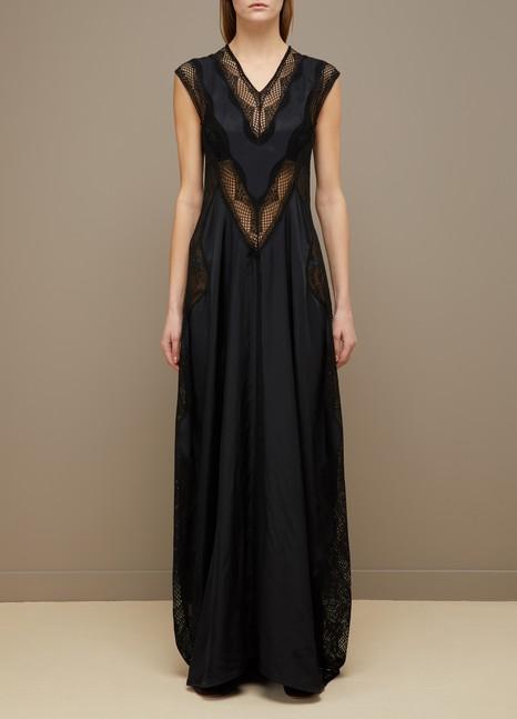 CélineLong lace dress