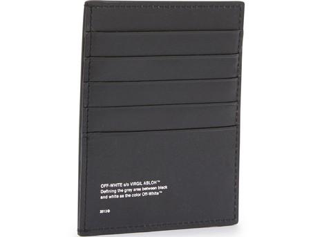 OFF-WHITELogo card holder