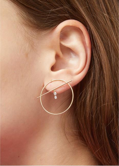 PERSEEFibule 2 single earring