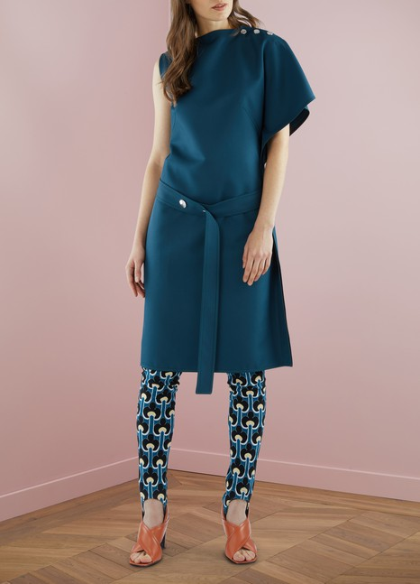 Marni Knee-Length Belted Dress