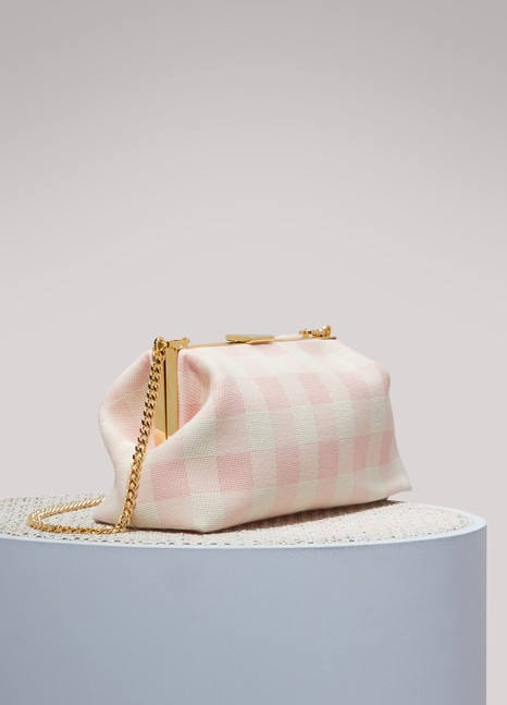 MANSUR GAVRIEL Volume mini clutch crossbody bag