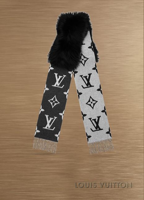 Louis VuittonÉcharpe Reykjavik Fur