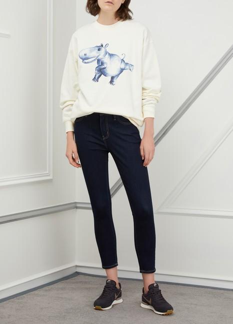 CURRENT/ELLIOTTThe Stiletto high-waisted jeans
