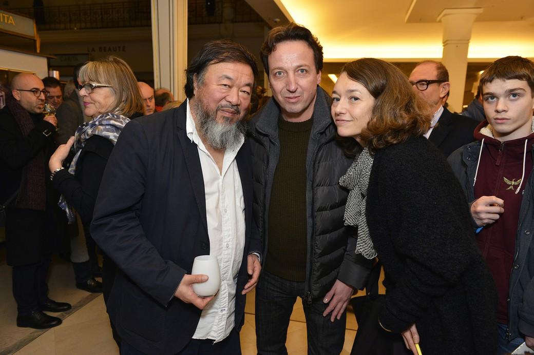 Ai Weiwei & Emmanuel Perrotin - © Say Who