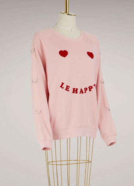 "Zoe Karssen Sweat ""Le happy"""