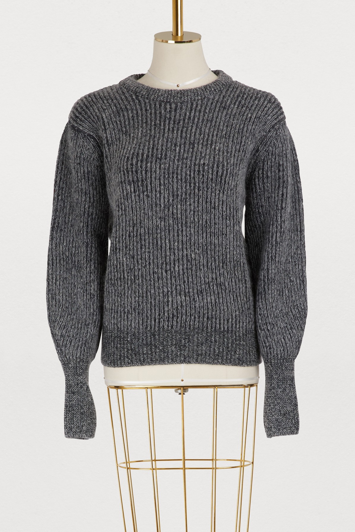 MAISON KITSUNE | Ribbed sweater | Goxip