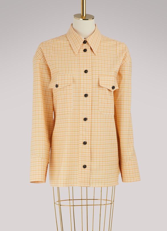 Victoria BeckhamChemise avec poches plaquées