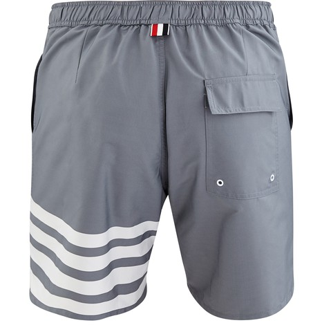 THOM BROWNE 4-Bar swimming shorts