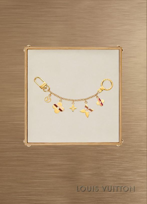 Louis VuittonBijou de sac Stripes Flowers