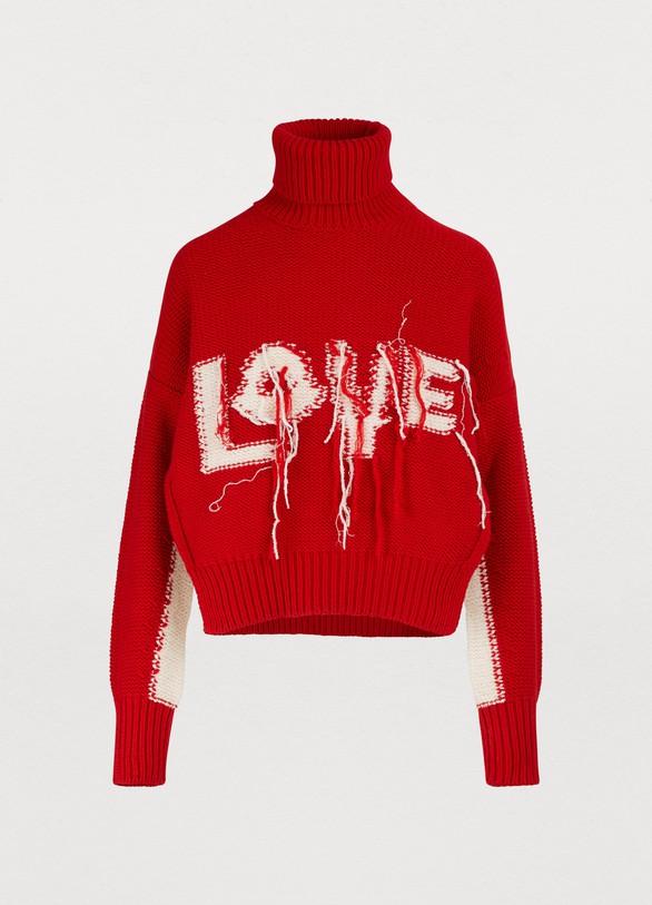 767febc1 Women's 2 Moncler 1952 - Love cashmere sweater | Moncler Genius | 24 ...