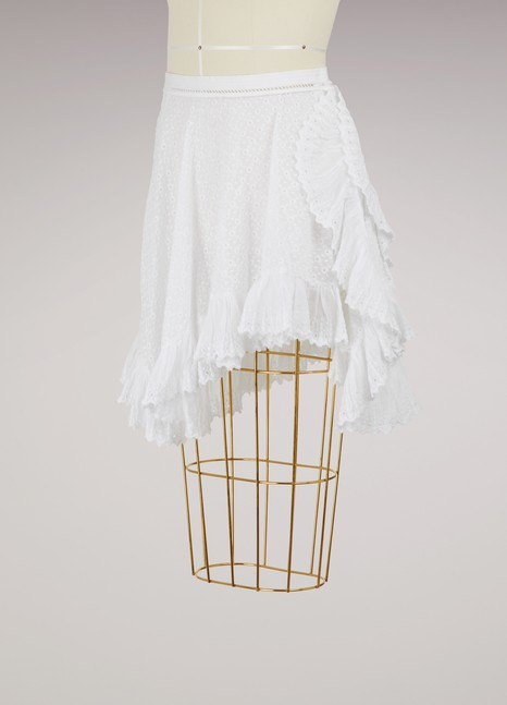 Isabel MarantZanna ruffled skirt