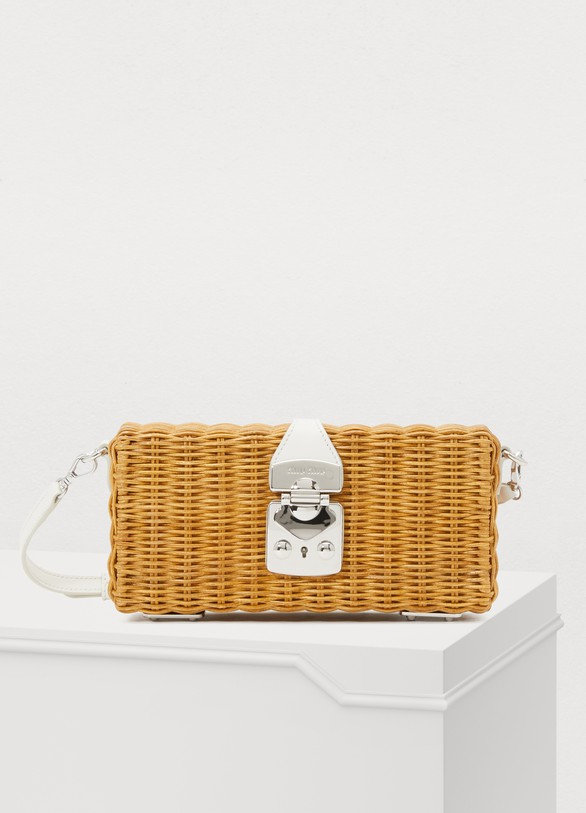 f3ccc11a191 Women s Rattan crossbody bag