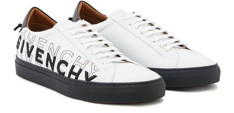GIVENCHY Low trainers in leather, with gradient-effect Givenchy name