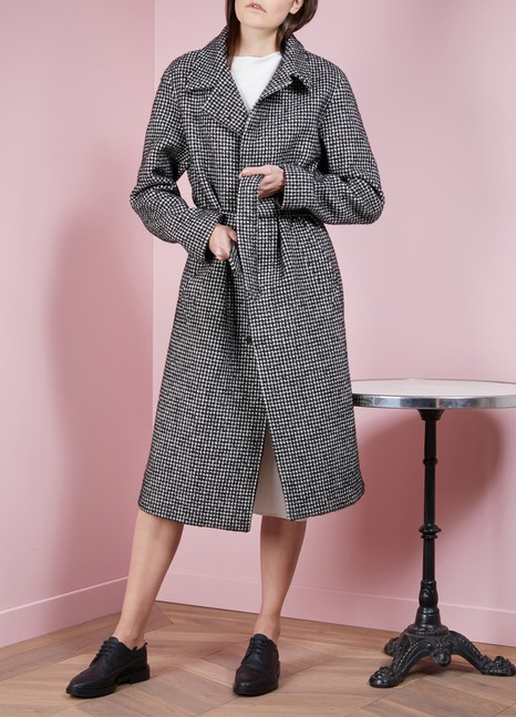 Ami Long Wool Coat