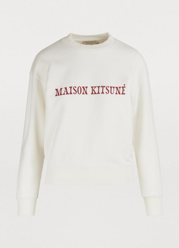 Maison KitsunéSweat logo