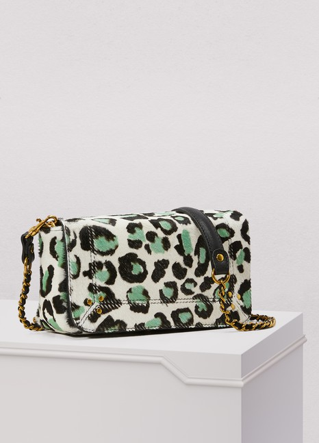 Jérôme Dreyfuss Bob leopard crossbody bag