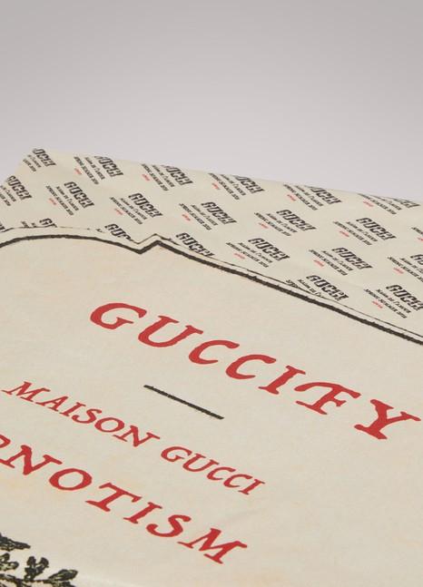 GucciFoulard en soie Stamp