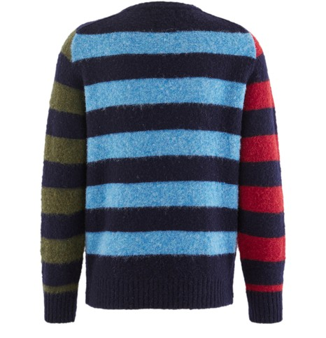 HOWLIN' Striped round neck jumper