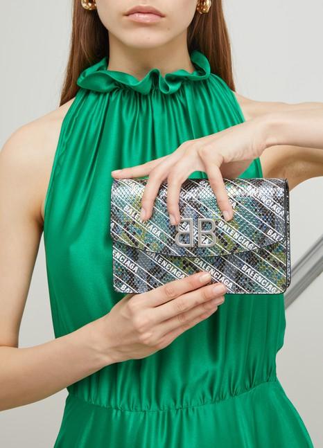 BALENCIAGABB wallet with chain strap