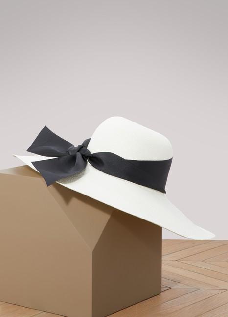 Sensi StudioLady Ibiza hat with large ribbon