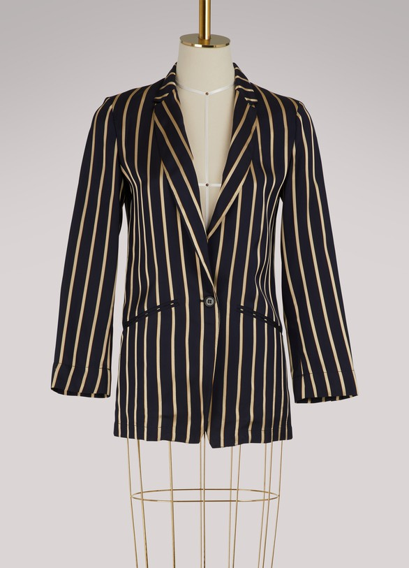 Forte_Forte Striped blazer