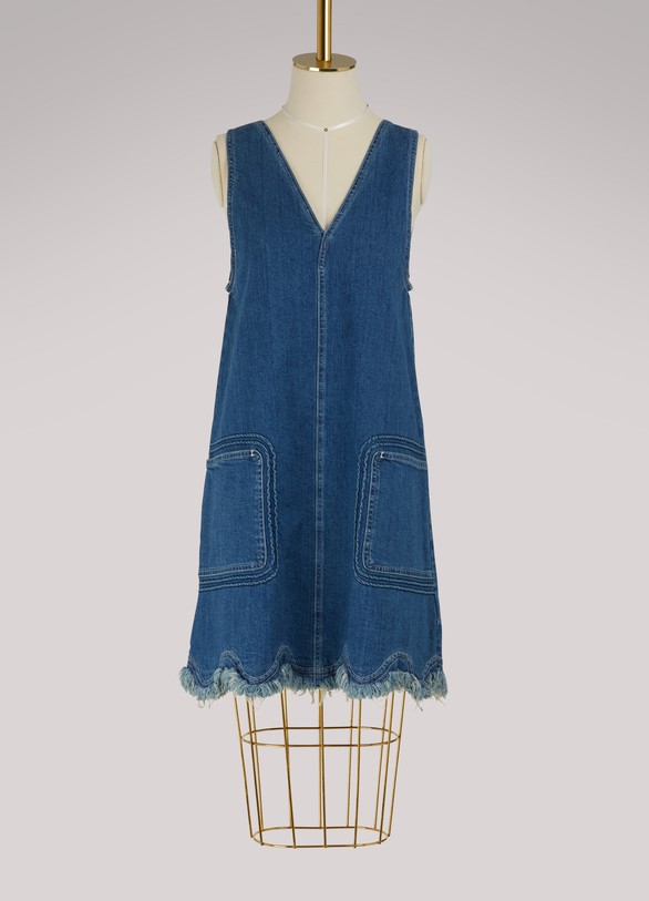 SEE BY CHLOE Robe en denim