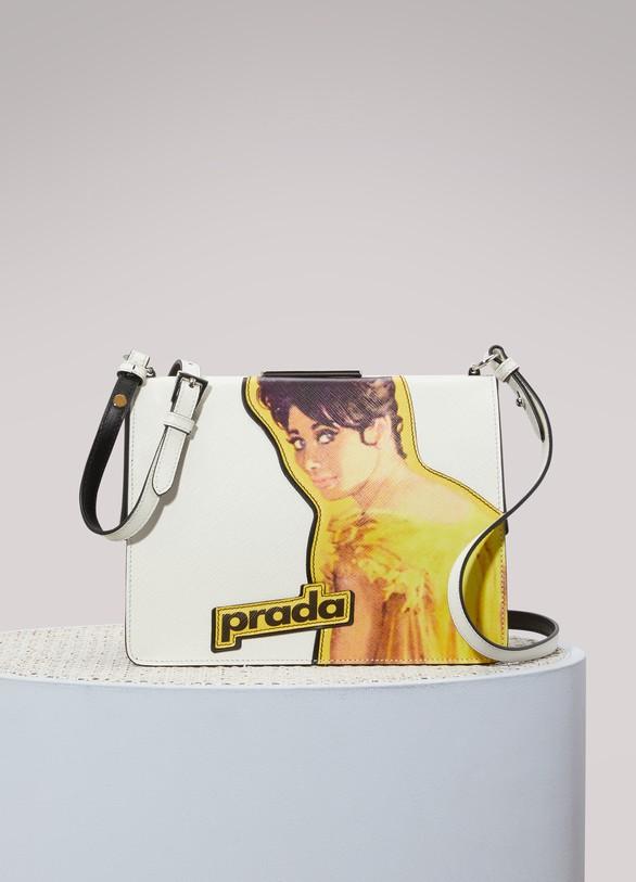 PradaFace crossbody bag